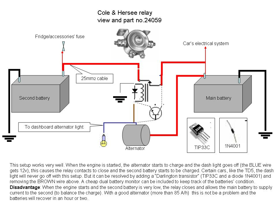 dual_batt_relay recommended dual battery systems, auxiliary battery chargers auxiliary battery wiring diagram at creativeand.co