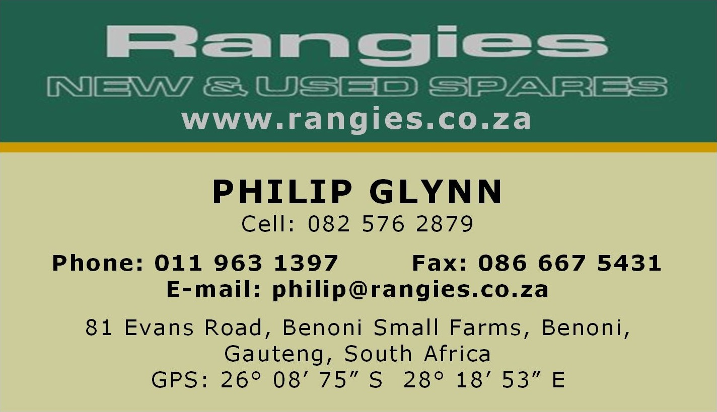 Rangies New and Used Spares